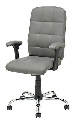 Argos Home Jarvis High Back Office Chair Grey Ebay