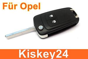 Autoelektronik, Gps & Sicherheitstechnik 3tasten Ersatz Klappschlüssel Gehäuse Für Opel Astra J Insignia Corsa E Meriva B