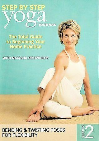 Yoga Journals Yoga Step By Step Session 2 Dvd 2007 For Sale Online Ebay
