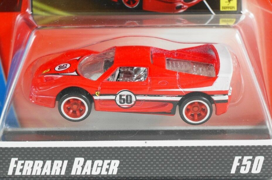 HOT WHEELS 2008 FERRARI RACER F50 - RED