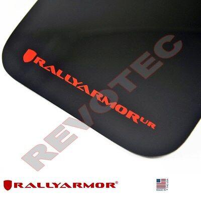 Rally Armor FITS 2007-2017 Lancer DE//ES//GTS//Ralliart// UR Red Mud Flap White Logo