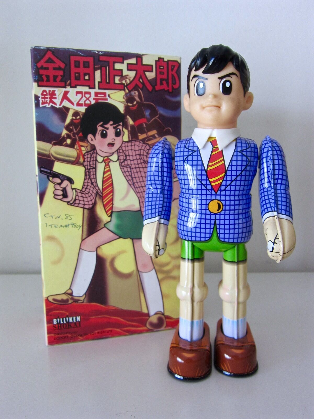 SHOTARO KANEDA (JIMMY SPARKS) TETSUJIN 28. BILLIKIN SHOKAI. TIN WIND UP. 1997