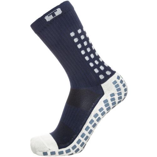 TruSox Mid-Calf Cushion Socken Herren dunkelblau weiß NEU