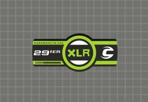 silver Cannondale Lefty XLR 100 29 Band Decal//Sticker Black red