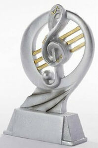 """Musik-Pokal """"Resin-Figur"""" mit Ihrer Wunschgravur (39345)"""
