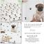 Mignon-Carlin-Dog-Paw-Print-Doggy-Bone-reversible-couette-couverture-Set-Ensemble-De-Literie miniature 1