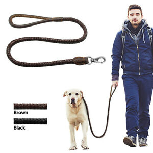 Braided-Leather-Heavy-Duty-Dog-Leash-Strong-Leads-for-Medium-Large-Dogs-Walking