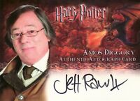 Harry Potter Goblet of Fire Jeff Rawle / Amos Diggory Auto Card
