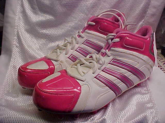 Adidas SM Football Scorch Destroy F Pre-Owned Football SM Molded Cleats Pink/White Size 12 e462c0
