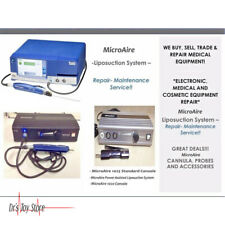 Microaire Liposuction Console Medical Equipment Evaluation Amp Repair Service
