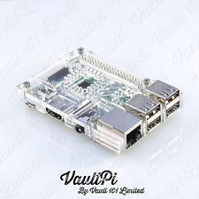 Claro caso de acrílico para Raspberry Pi 3 Modelo B vaultpi