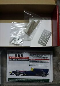 Studio27 Tk-2038 1/20 Transkit Red Bull Rb6 Monaco
