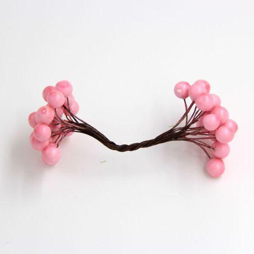 DIYHouse® 20pcs//lot Artificial Berries Stamen Bouquet DIY Floral Flowers
