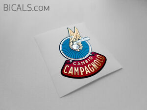 CAMPAGNOLO-CAMBIO-Winged-Wheel-Vintage-Big-Version-decal-sticker-FREE-SHIPPING