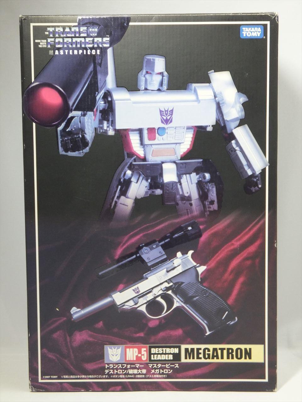 Transformers Masterpiece MP-5 Destron líder Megatron Takara Tomy