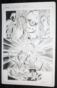Deadpool: Assassin #1 P.26 - Action - Unterzeichnet Kunst Von Scott Koblish