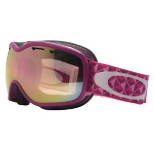 74b901375cd Details about Oakley 57-579 STOCKHOLM Violet Studs w  VR50 Pink Lens Womens  Snow Ski Goggles .
