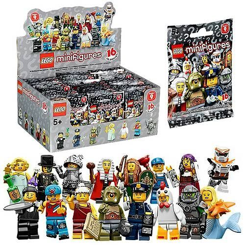 NEW LEGO 71000 Box Case 60 MINIFIGURES Sealed SERIES 9
