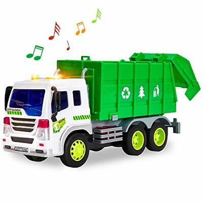 HERSITY Camion Pompieri Grande Macchinine Giocattolo con Luci e Suoni Attrito Au