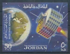Utile 196259) Jordanie Bloc 27 ** Spatiale-afficher Le Titre D'origine