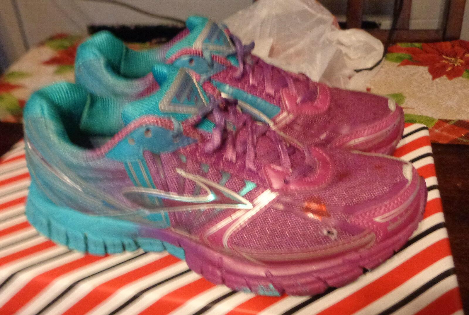 Brooks Adrenalize GTS 14 Running Womens Size 7 RN 1200151B669 bluee & Purple
