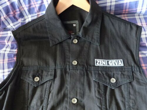 Merzbow Free USA shipping Zeni Geva Iron on embroidered patch Masonna