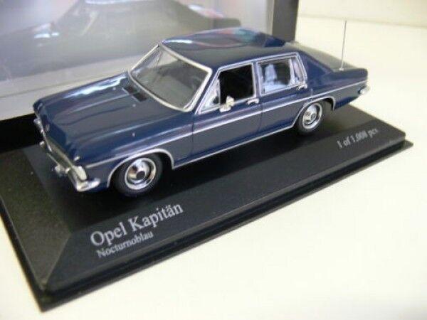 1 43 Minichamps Minichamps Minichamps Opel Capitaine 1969 Bleu b8fb3e