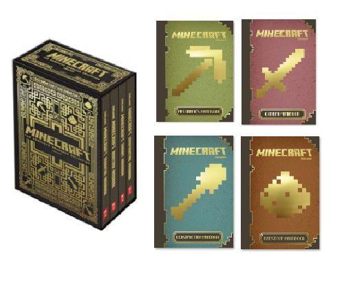 Minecraft Slipcase-The Complete Handbook Collection- BRAND NEW & VALUE