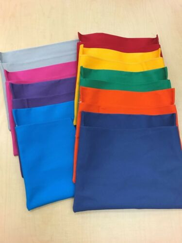 """SET OF 25 MEDIUM CHAIR POCKETS ~ Seat Sack Any COLOR FITS Chairs 13/"""" WIDE"""