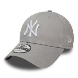 586298feff6 Cap 9Forty Mlb New York Yankees Leag Basic New Era Grey Men