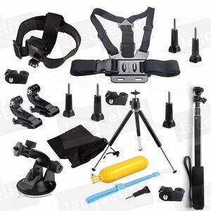 Accessories-Kit-for-Gopro-hero-5-4-3-Sony-Ion-Action-Cam-Xiaomi-Yi-SJCAM-SJ5000
