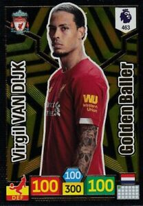 PANINI-ADRENALYN-XL-2019-20-VIRGIL-VAN-DIJK-GOLDEN-BALLER-NO-463