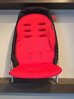Phil&teds Vibe Double Kit Second Seat, Black & Red Double Your Buggy Save