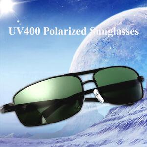 UV400-Lunettes-de-Soleil-Polarise-Sunglasse-Metal-Monture-Conduite-Sport-Homme