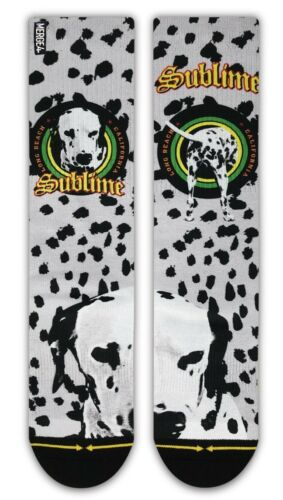 BRAND NEW MERGE 4 ADULT MENS SUBLIME WENT TO THE MOON SOCKS MEDIUM LARGE LIMITED