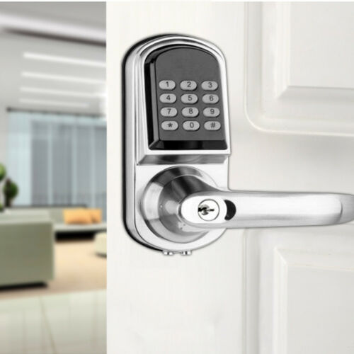 Digital Electronic Smart Door Lock Keyless Password Entry Home Office Security
