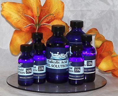 SALICYLIC Acid Cosmetic Peel Solution ~ ACNE, WRINKLES, Smooth Skin