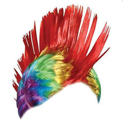 Gay Pride Mohawk Wig Rainbow Wig