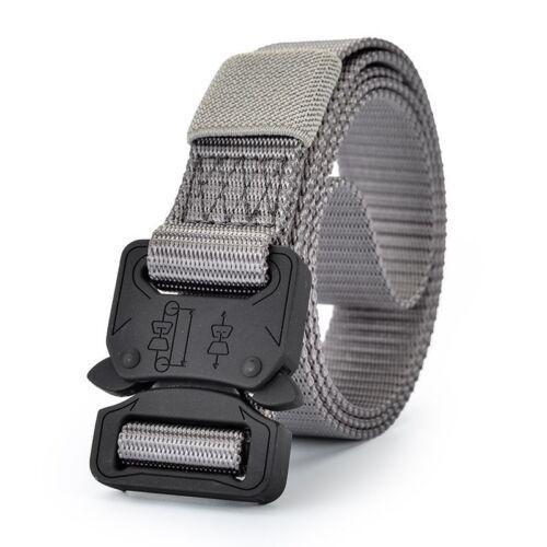 Unisex Women And Men Army Tactical Nylon Belt Military Belt Outdoor Sport Belt