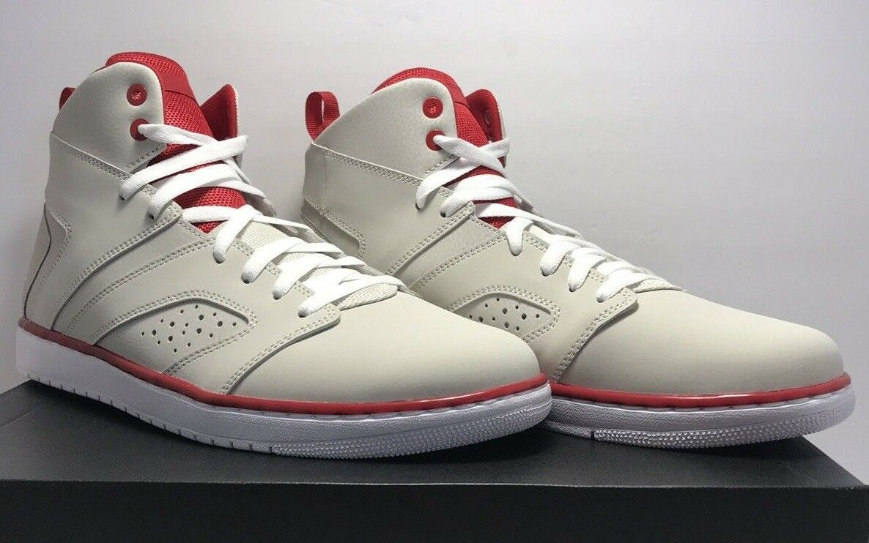 Nike Mens Size 11.5 Jordan Flight Legend Light Bone Basketball Trainers AA2526