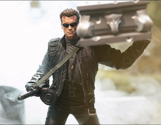 McFarlane Toys T3 T-850 Terminator Figure Coffin New from 2003 2003 2003 neroenegger 308ed0