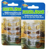 Zoo Med Turtle Dock 8 Suction Cups Tds-4 Ramp Cup 2 Packs Of 4