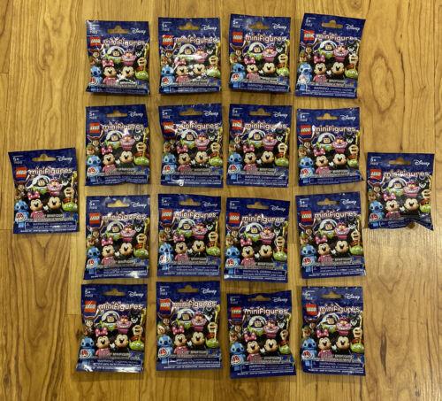 LEGO MINIFIGURES 71012 SEALED! DISNEY SERIES 1 SET OF ALL 18 MINIFIGURES