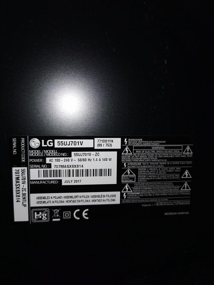 """LG, 55uj701v, 55"""""""