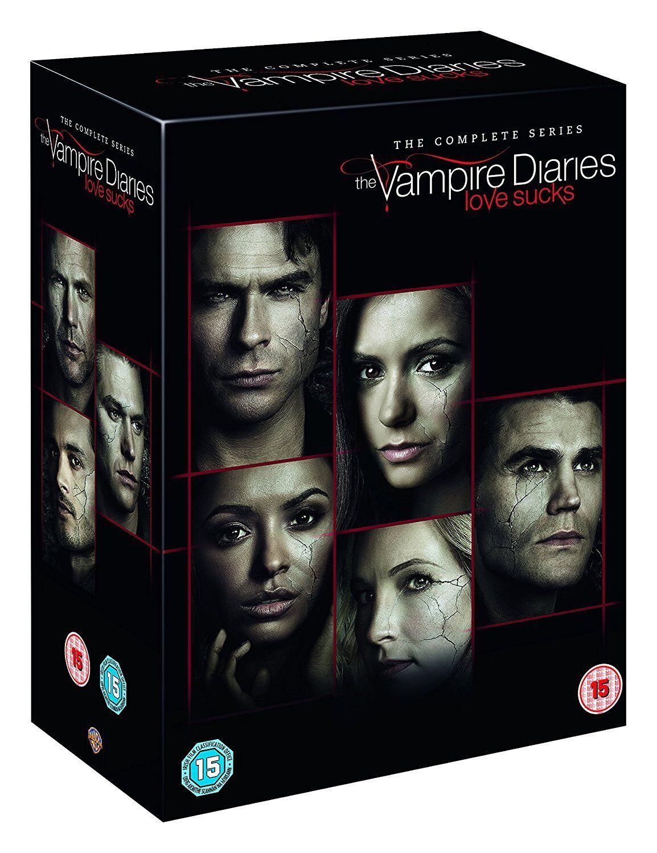 The Vampire Diaries Complete Series Season 1 2 3 4 5 6 7 8 Dvd 43 Disc R4 1 8