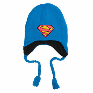 DC-Comics-Superman-Logo-Blue-Laplander-Beanie-Hat