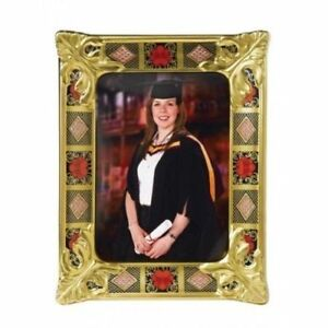 New-Royal-Crown-Derby-2nd-Quality-Old-Imari-Solid-Gold-Band-Medium-Picture-Frame