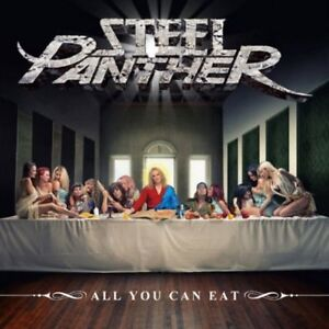 Steel-Panther-All-You-Can-Eat-New-CD-Explicit-With-Booklet