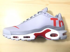 Details about NEW Men's SZ 10.5, NIKE Air Max Plus TN Mercurial Wolf Grey Speed Red AQ1088 001