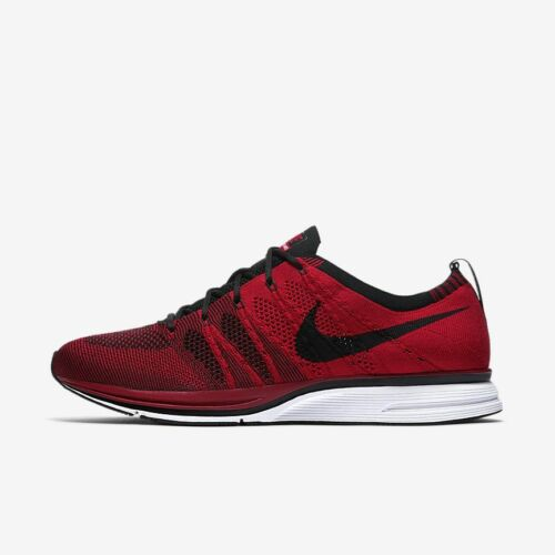 Discount Nike Flyknit Trainer AH8396-601 University Red Black White Men's Lifestyle Shoes for cheap